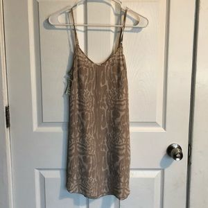 NWT Aritzia Wilfred silk dress